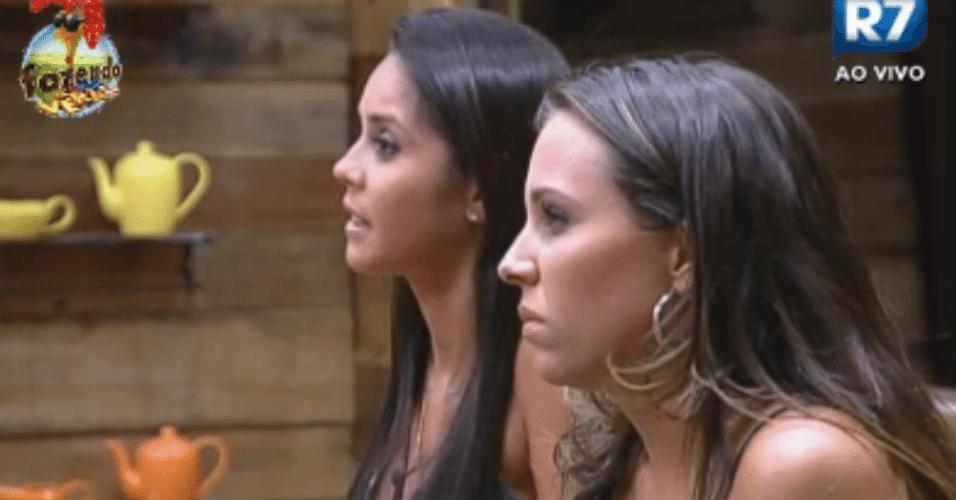 Angelis e Flávia disputam o duelo da semana