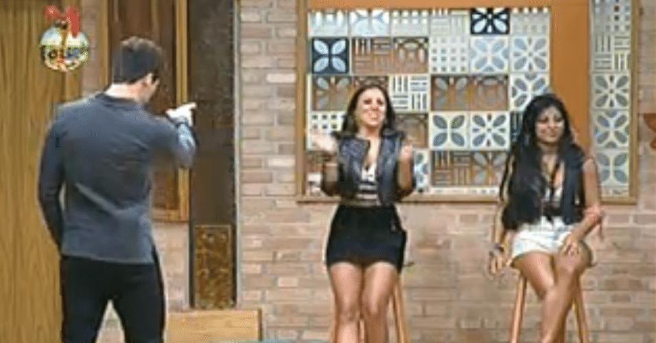 Angelis vence a quinta roça e Natália é eliminada do reality show