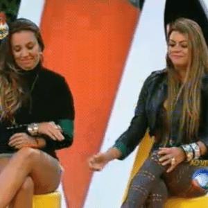 Angelis e Manoella se enfrentam na penúltima roça