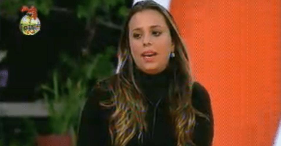 Para defender Manoella, Angelis empata o jogo ao votar em Ísis
