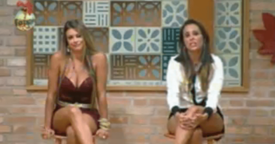 O casal Angelis e Manoella se enfrentam na penúltima roça da