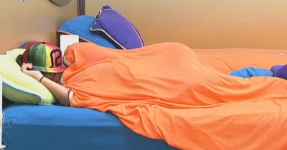 Angelis dorme um pouco mais