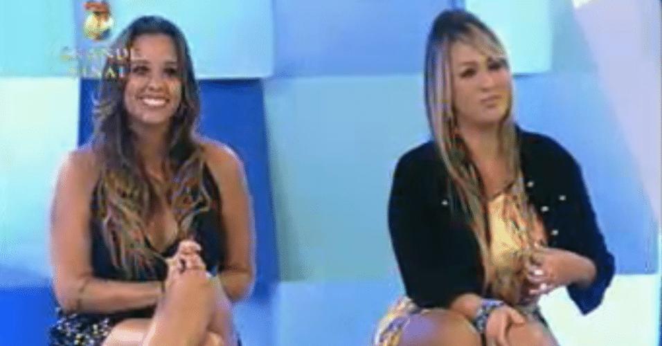 Angelis e Ísis aguardam anúncio de quem é a vencedora
