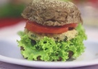 Hambúrguer light de micro-ondas