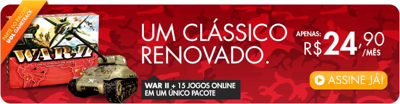 War + 15 Jogos Online num único pacote