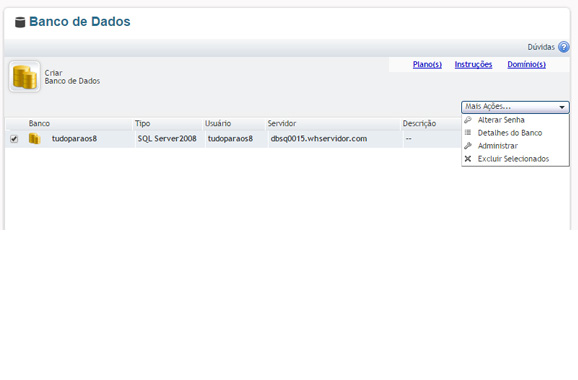 Painel SQL Server