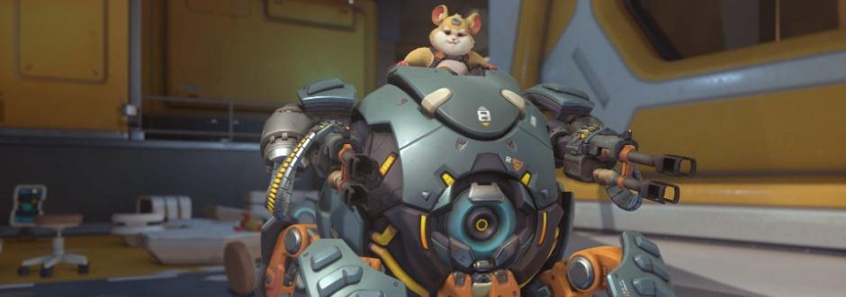 Novo personagem 'Wrecking Ball' chega ao Overwatch em 24 de julho