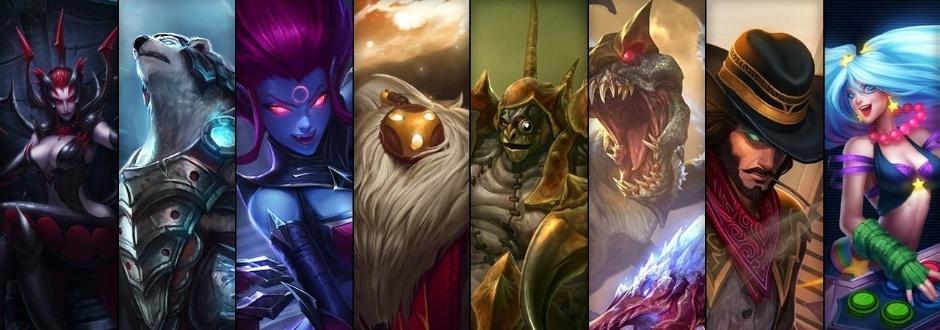League of Legends - Promoção de Campeões e skins entre 21 e 24 de março