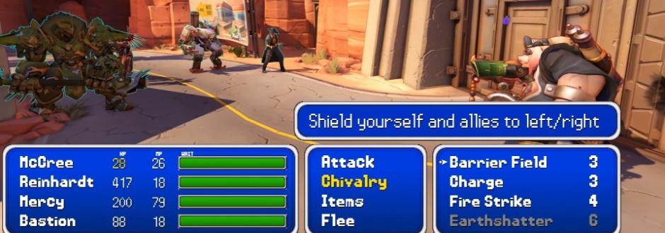 Vídeo mostra como seria o Overwatch com o clássico sistema de turnos de RPGs