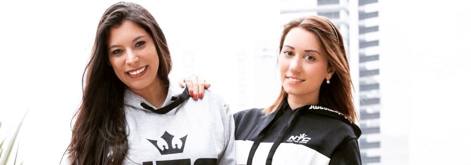 Fly e Santininha irão promover esport em evento com foco no público feminino