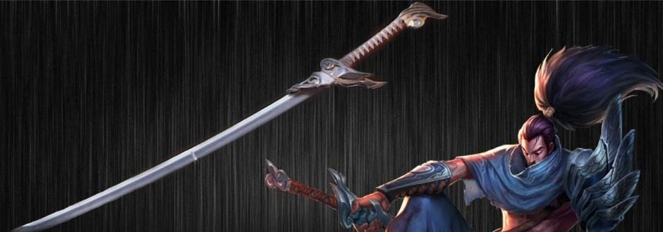 League of Legends - Espada de Yasuo é recriada na vida real; assista