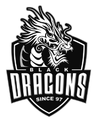 Logo da Black Dragons