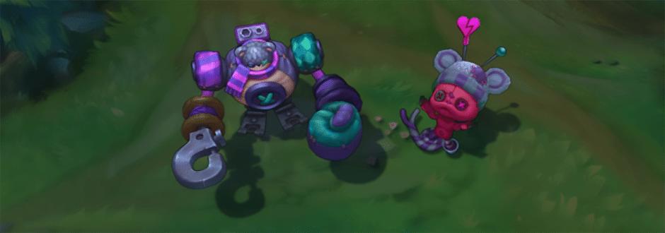 Novas skins para Amumu e Blitzcrank estão a caminho!
