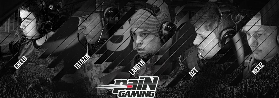 PaiN Gaming está de volta ao CS:GO com line ex-Cyclone