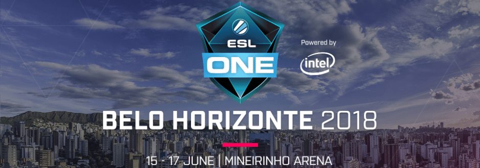 ESL One Belo Horizonte revela horários e participantes da transmissão