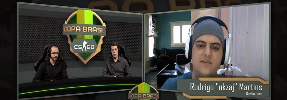 Copa Brasil CSGO: Entrevista com Rodrigo nkzaj Martins do Gorilla Core