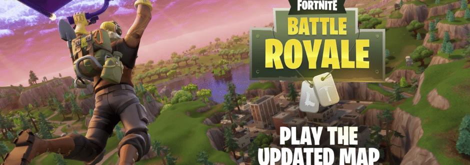 Mapa atualizado de Fortnite ganha trailer