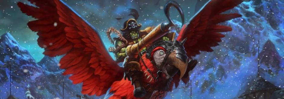 Hearthstone celebra hoje o Dia o Falar como um Pirata com recompensa extra