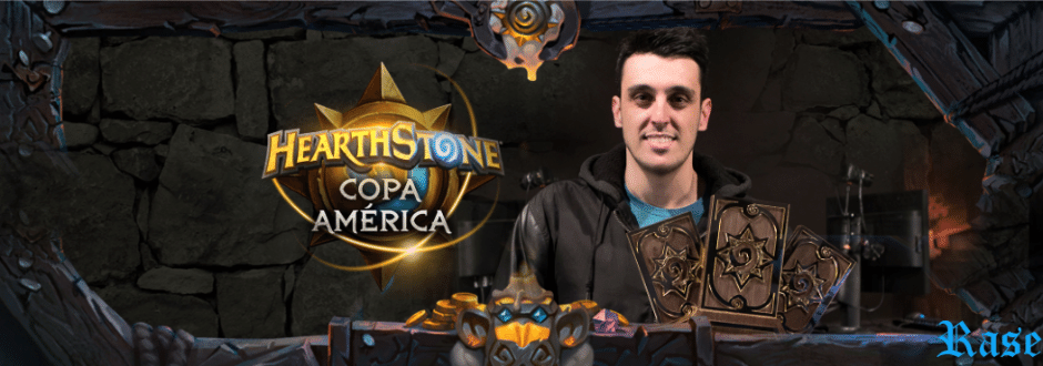 Qualificado para a HCT, Rase comenta o título na Copa América de Hearthstone