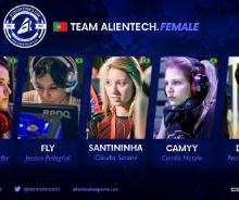 Alientech com equipe feminina de CS:GO