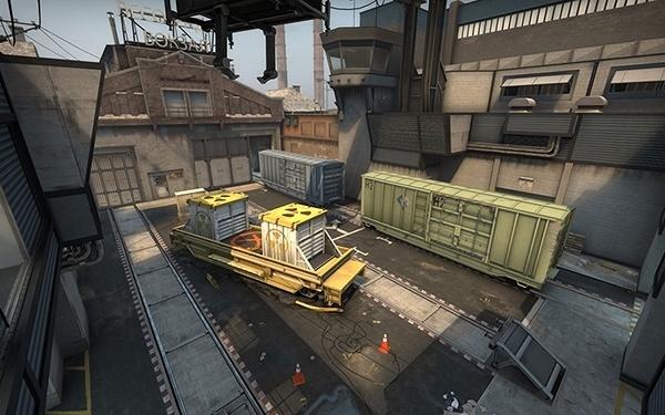 CSGO - Mapa Train