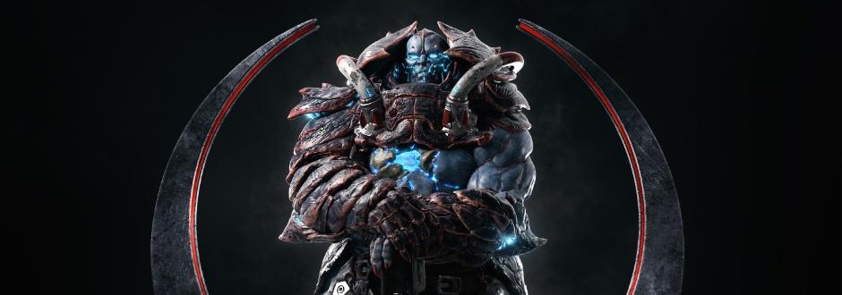 Revelado novo personagem de Quake Champions, Scalebearer