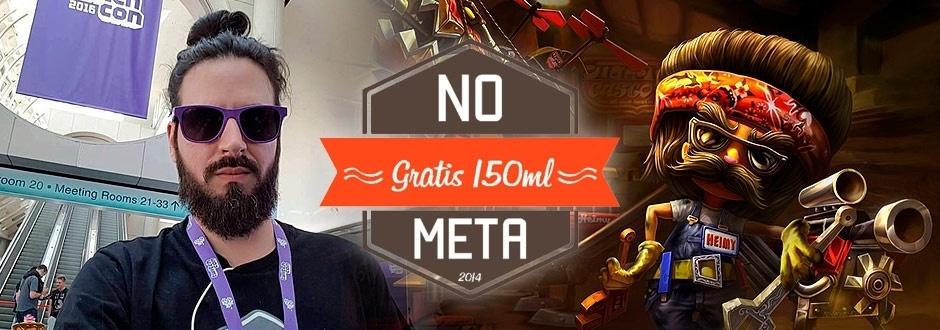 No Meta - Entrevista com Gratis 150ml