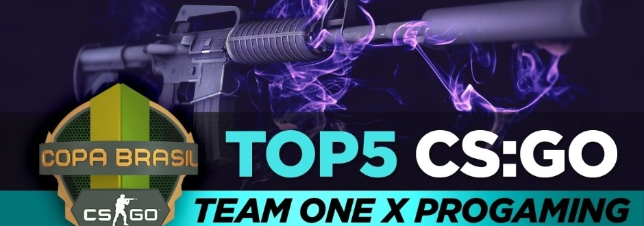 Copa Brasil de CS:GO - Top 5 de jogadas entre Team One e ProGaming