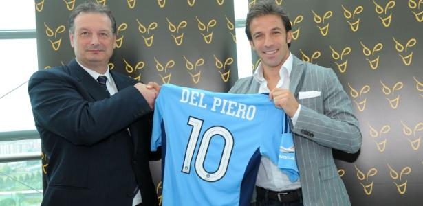 Zico tenta intermediar acerto de Del Piero com o Flamengo, diz jornal italiano