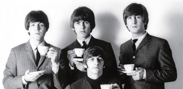 """The Beatles em foto de Robert Whitaker publicada no livro  """"LIFE: With The Beatles"""""""