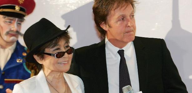 Yoko Ono e Paul McCartney