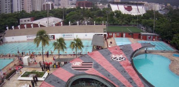 Gambá invade caixa de luz da Gávea e deixa sede do Flamengo sem energia nesta quarta