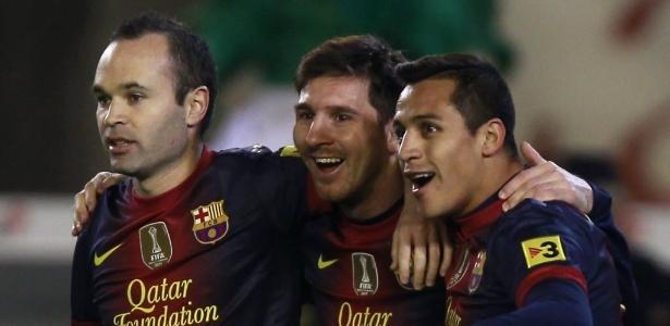 Com média de mais de um gol por jogo, Messi caminha para superar Flamengo em 2012