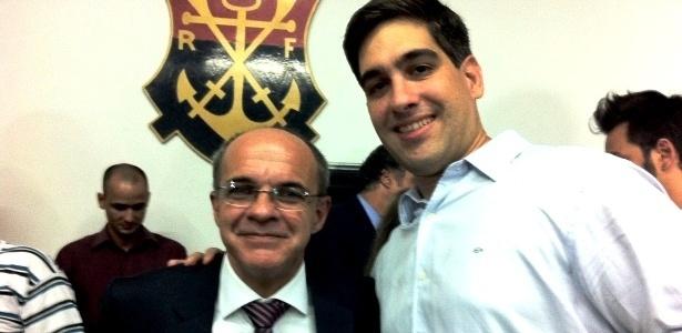 Com presidente discreto, Wallim e vice garotão comandam nova diretoria do Fla