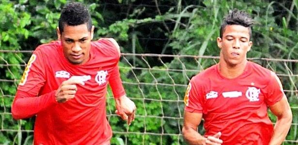 Dorival comanda treino do Flamengo sem trabalho tático e aproveita Mattheus