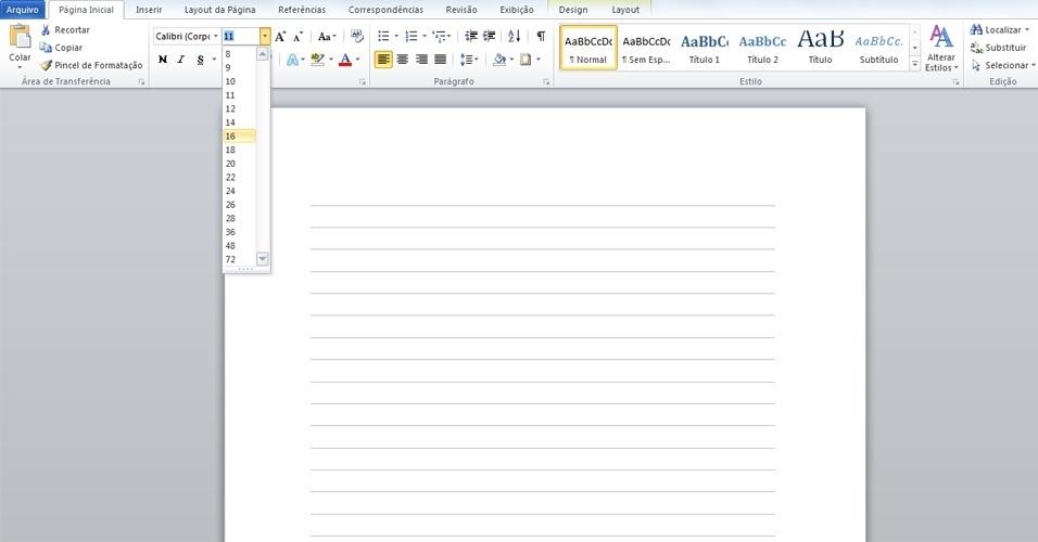 Como Fazer Folha De Caderno Docx Document Pefenlile Ml