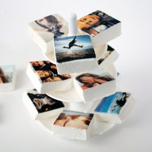 Boomf, marshmallows impressos com fotos do Instagram
