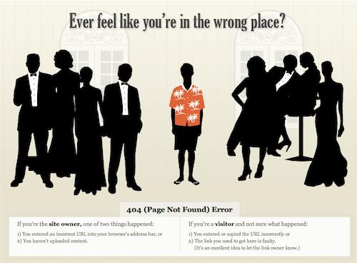 Erro 404! Confira os mais divertidos