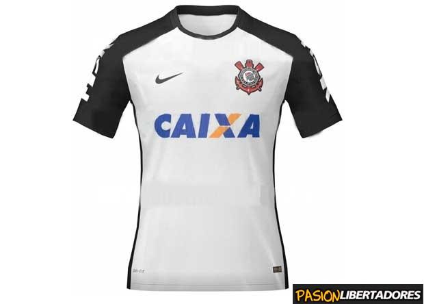 4db9428346 Os supostos novos uniformes do Corinthians vazaram na internet. O site  Pasion Libertadores