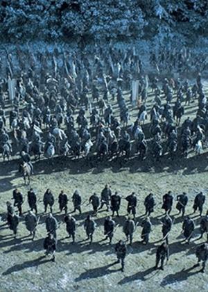 """Cena da Batalha dos Bastardos, em """"Game of Thrones"""""""