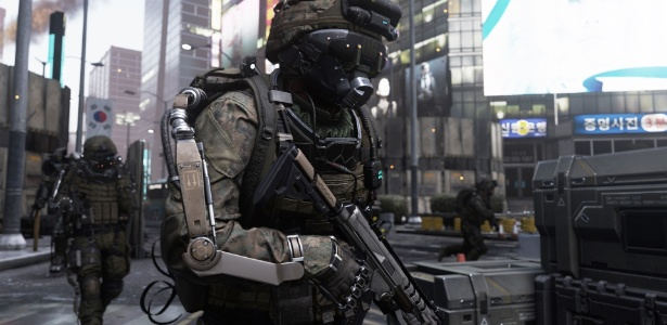 """Advanced Warfare"" trouxe novas mecânicas de movimento e exoesqueleto"