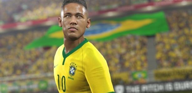 """Neymar é o atleta da capa de """"Pro Evolution Soccer 2016"""" em todo o mundo"""