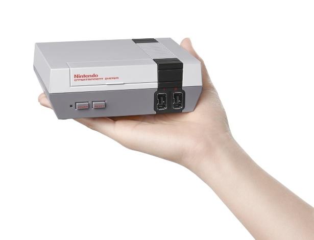 Nova versão do console será menor e com 30 jogos clássicos na memória interna