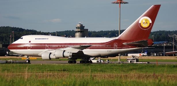 O Boeing 747 serviu os monarcas árabes por duas décadas