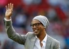 Ronaldinho discutiu mais produtividade e menos marketing com o Coritiba