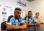 Xarás, novos laterais do Grêmio citam Libertadores na apresentação