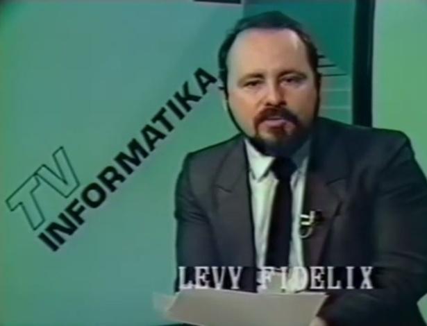 """Na década de 80, Levy Fidelix apresentou o programa """"TV Informátika"""" por dois anos"""